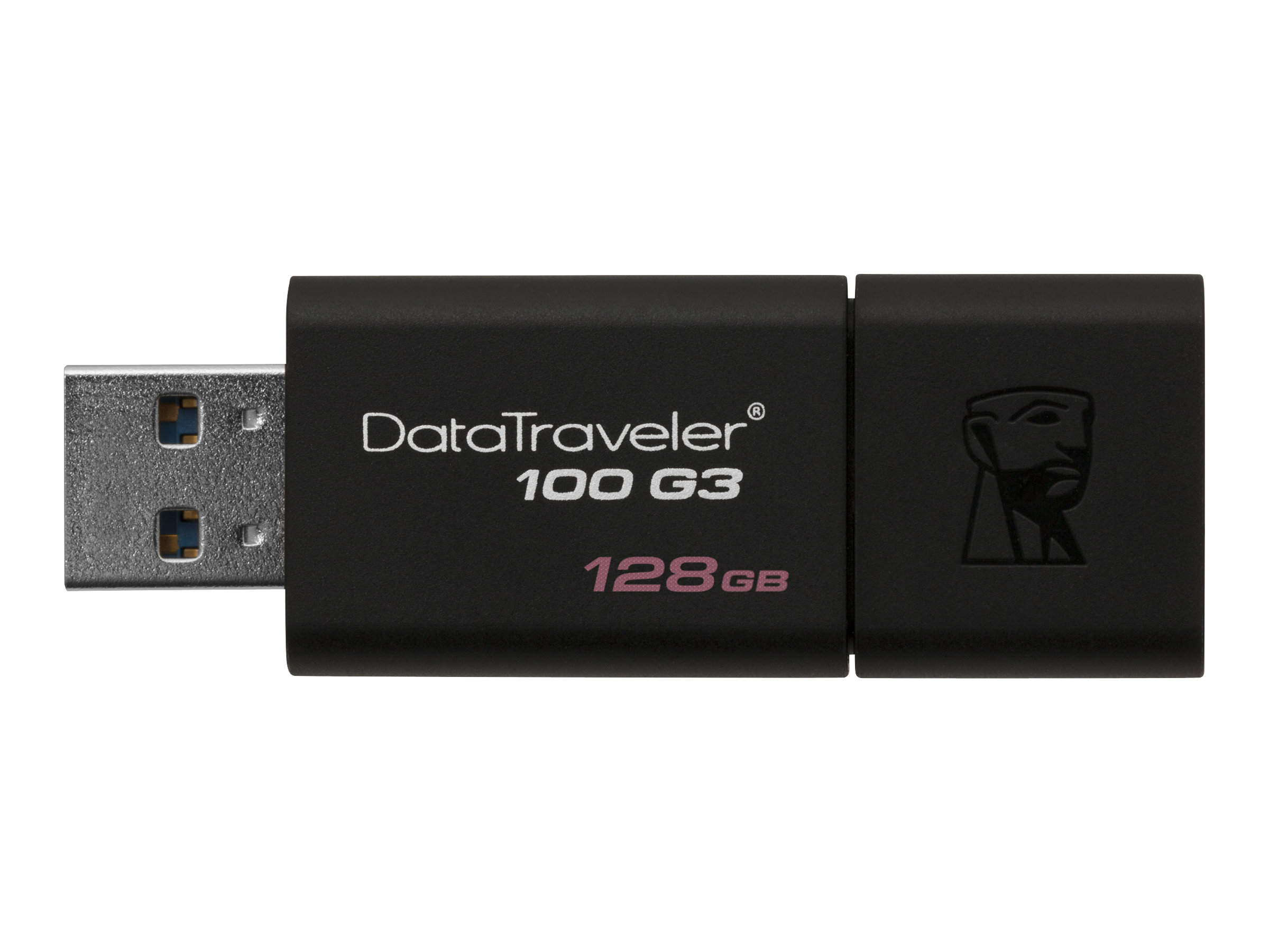 Kingston DataTraveler 100 G3 - USB flash drive - 128 GB