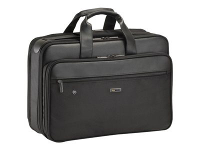 SOLO Classic Smart Strap Briefcase SGB300 Notebook carrying case 16INCH black