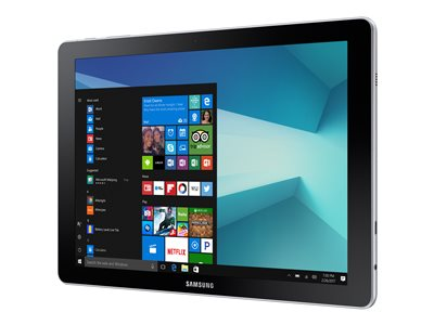 Samsung Galaxy Book Tablet with detachable keyboard Core m3 7Y30 / 2.6 GHz Win 10 Pro