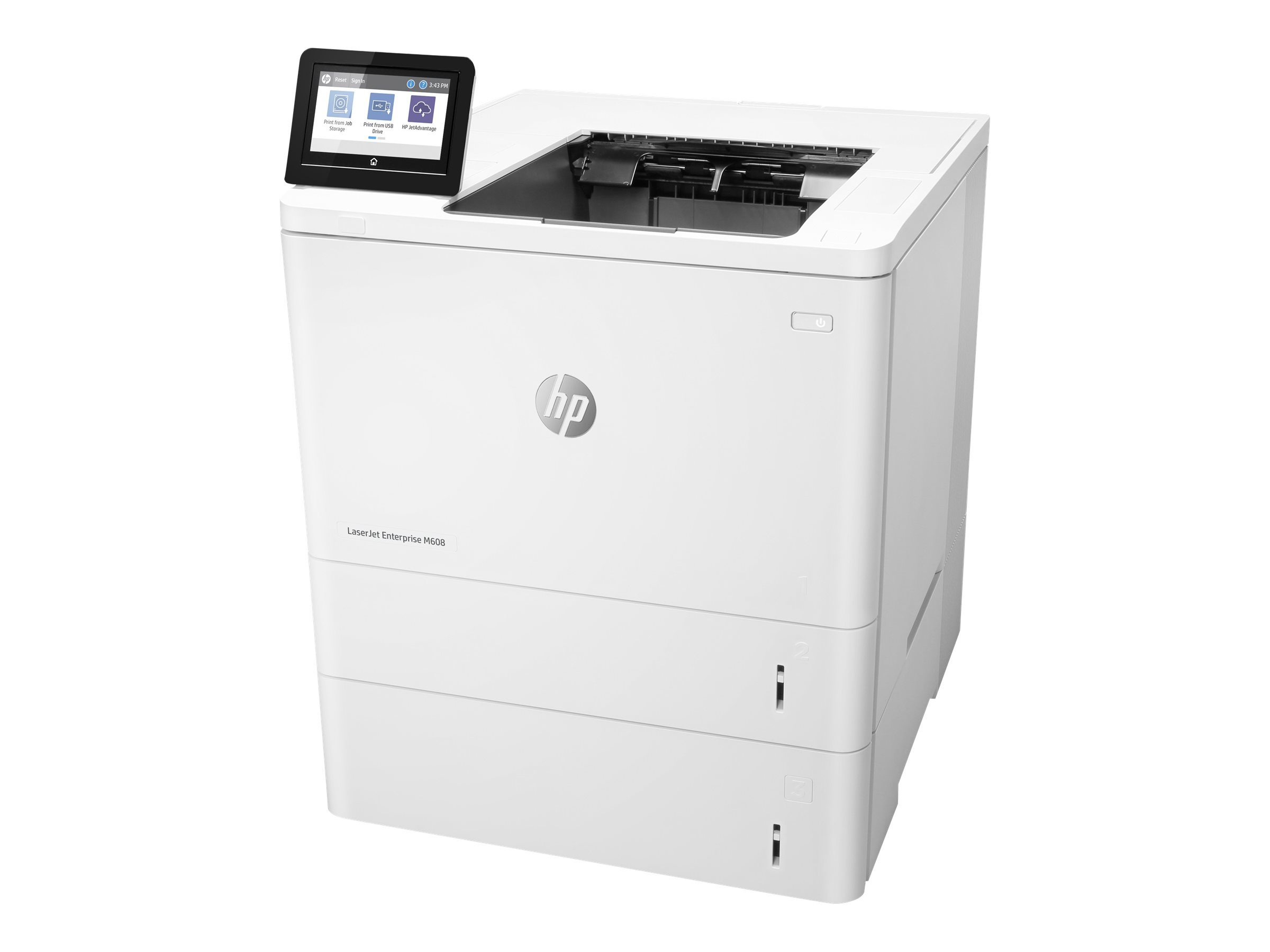 HP LaserJet Enterprise M608x - printer - B/W - laser
