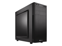 Corsair Carbide Series 100R - Silent Edition - mid tower - ATX - no power supply (ATX) - USB/Audio