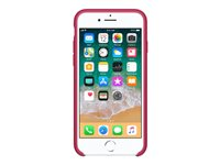 iPhone 8/7 Silicone Case - Rose Red, iPhone 8/7 Silicone Case -