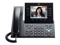 Cisco Unified IP Phone 9951 Standard VoIP phone SIP multiline charcoal gray r