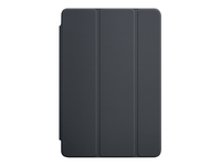 Apple Smart - Screen cover for tablet - polyurethane - charcoal grey - for iPad mini 4