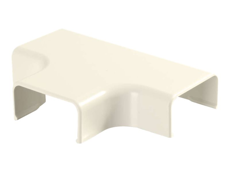 C2G Wiremold Uniduct 2900 Tee - Ivory - cable raceway tee