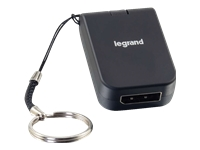 Picture of C2G USB-C to DisplayPort Travel Adapter - external video adapter - black (82109)