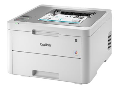 Brother HL-L3210CW - Printer - color - LED - A4/Legal - 2400 x 600 dpi - up to 18 ppm (mono) / up to 18 ppm (color) - capacity: 250 sheets - USB 2.0, Wi-Fi(n)
