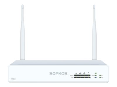 Sophos XG 115w Rev 3 security appliance with 1 year EnterpriseProtect GigE Wi-Fi