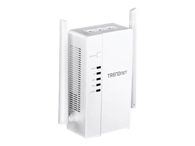 TRENDnet WiFi Everywhere Powerline 1200 AV2 Access Point TPL-430AP - Bridge - 3-Port-Switch - GigE - 802.11n/ac - Dual-Band