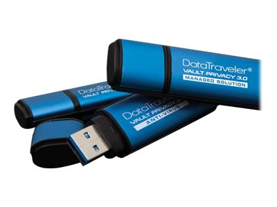 Kingston DataTraveler Vault Privacy 3.0 - USB-Flash-Laufwerk - verschlüsselt - 4 GB - USB 3.0