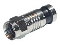 C2G Compression F-Type Connector with O-RING for RG59 - antenna connector