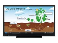 Sharp PN-C703B 70INCH Class (69.5INCH viewable) Aquos Board LED display interactive