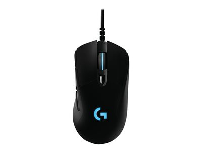 Logitech Gaming Mouse G403 HERO Mouse optical 6 buttons wired USB black