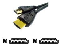 CP Technologies HDMI cable HDMI (M) to HDMI (M) 3.3 ft quad shie