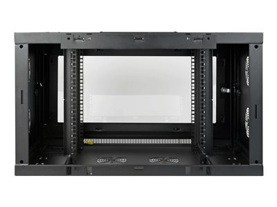 Tripp Lite SmartRack 9U Wallmount Rack Enclosure Wide Cable Management  Acrylic Window rack enclosure cabinet - 9U