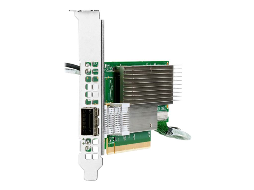 HPE InfiniBand HDR MCX653105A-HDAT - network adapter - PCIe 4.0 x16 - 200Gb Ethernet / 200Gb Infiniband QSFP28 x 1
