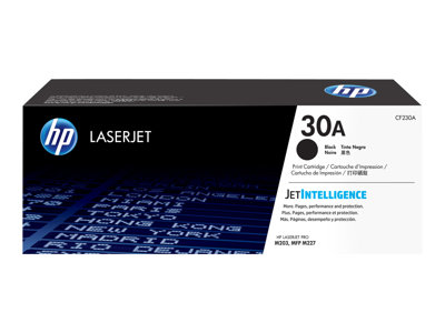 HP 30A - black - original - LaserJet - toner cartridge (CF230A)