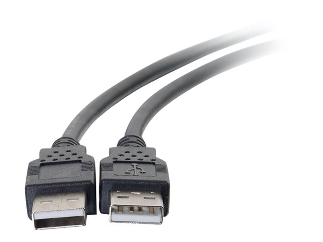 C2G USB 2.0 A to A Cable - USB Cable - 6ft