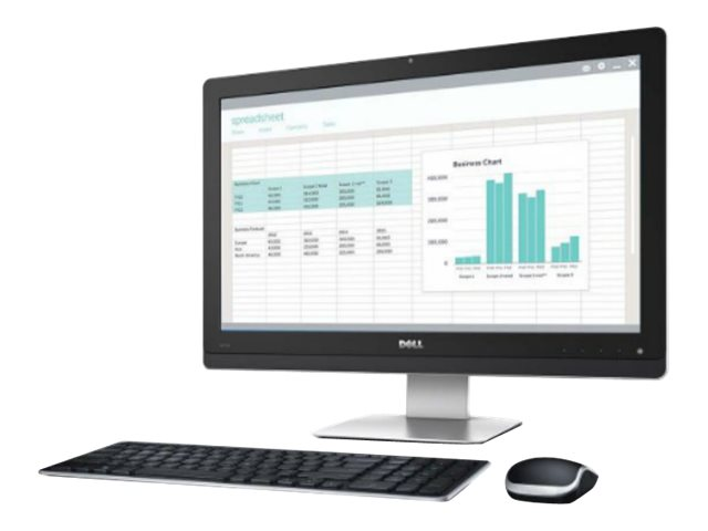 Dell Wyse 5213 All-in-One Thin Client - all-in-one - G-T48E 1.4 GHz - 2 GB - 8 GB - LCD 21.5""