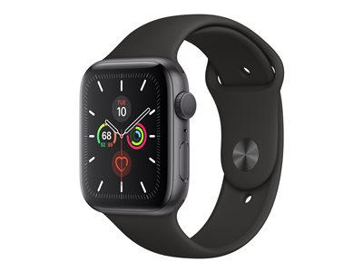 Apple Watch Series 5 (GPS) 44 mm Grå Smart ur