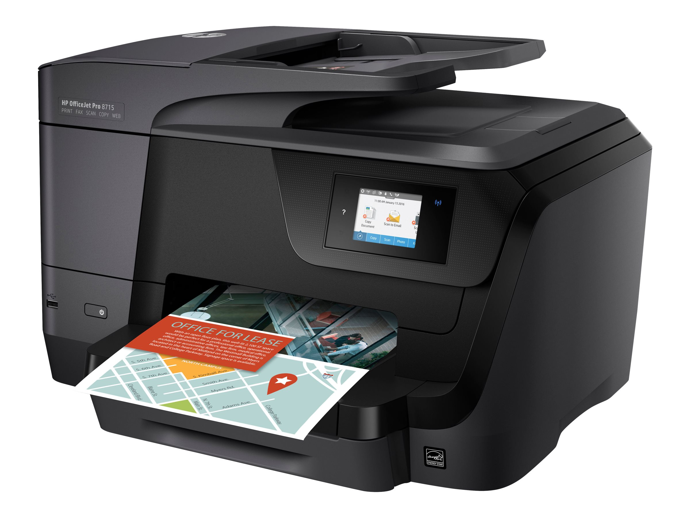 hp officejet pro 8715 all in one imprimante multifonctions couleur jet d 39 encre. Black Bedroom Furniture Sets. Home Design Ideas