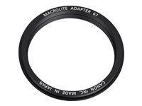 Canon Macrolite 67C - Macro-Flash-Adapterring 67 mm-Gewinde