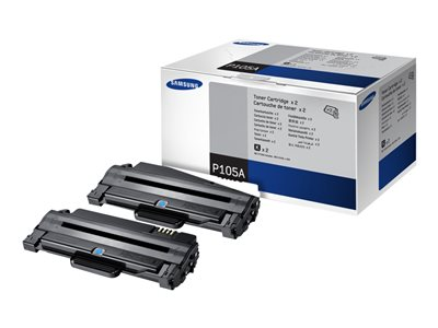 Samsung MLT-P105A 2-pack High Yield black original toner cartridge (SV117A)