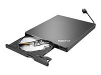 Lenovo ThinkPad UltraSlim USB DVD Burner - Disk drive - DVD±RW (±R DL) / DVD-RAM - SuperSpeed USB 3.0 - external - CRU - for IdeaCentre 330-20; 510-15; 720-18; ThinkCentre M75; ThinkPad E14; E15; X1 Yoga (4th Gen)