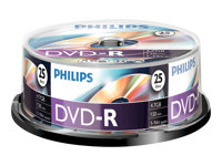 Philips DM4S6B25F 25x DVD-R 4.7GB