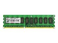 Transcend - DDR3 - module - 4 GB - DIMM 240-pin - 1333 MHz / PC3-10600 - registered