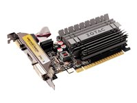 ZOTAC GeForce GT 730 Graphics card GF GT 730 4 GB DDR3 PCIe 2.0 x16 low profile