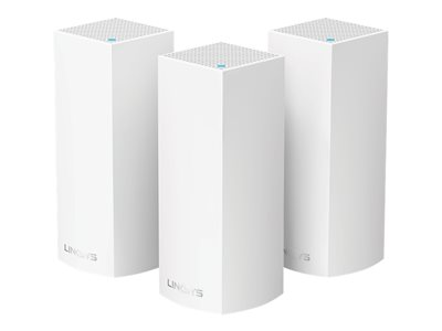 Linksys VELOP Whole Home Mesh Wi-Fi System WHW0303 2-port switch