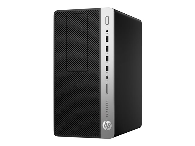HP EliteDesk 705 G4 - Workstation - micro-tour - Ryzen 5 Pro 2400G 3.6 GHz - 16 Go - 256 Go - français