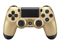 Sony DualShock 4 - Gamepad - wireless - Bluetooth - gold - for Sony PlayStation 4