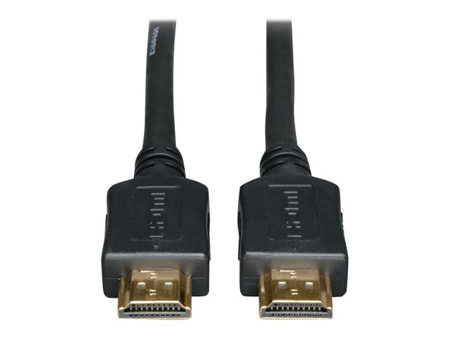 Tripp Lite High-Speed HDMI Cable with Ethernet - 4K, No Signal Booster Needed, M/M, Black, 40 ft.
