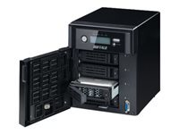 BUFFALO TeraStation 4400 - NAS server - 4 bays - SATA 3Gb/s - HDD - RAID 0, 1, 5, 6, 10, JBOD - RAM 2 GB - Gigabit Ethernet - iSCSI
