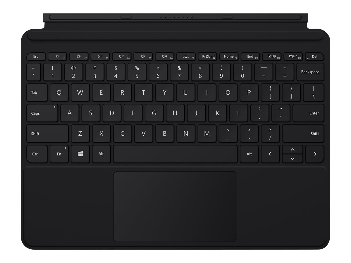 Microsoft Surface Go Type Cover - keyboard - with trackpad, accelerometer - English - black