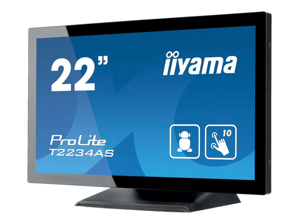 iiyama ProLite T2234AS-B1, 54,6cm (21,5 Zoll), Projected Capacitive, eMMC, Android, schwarz