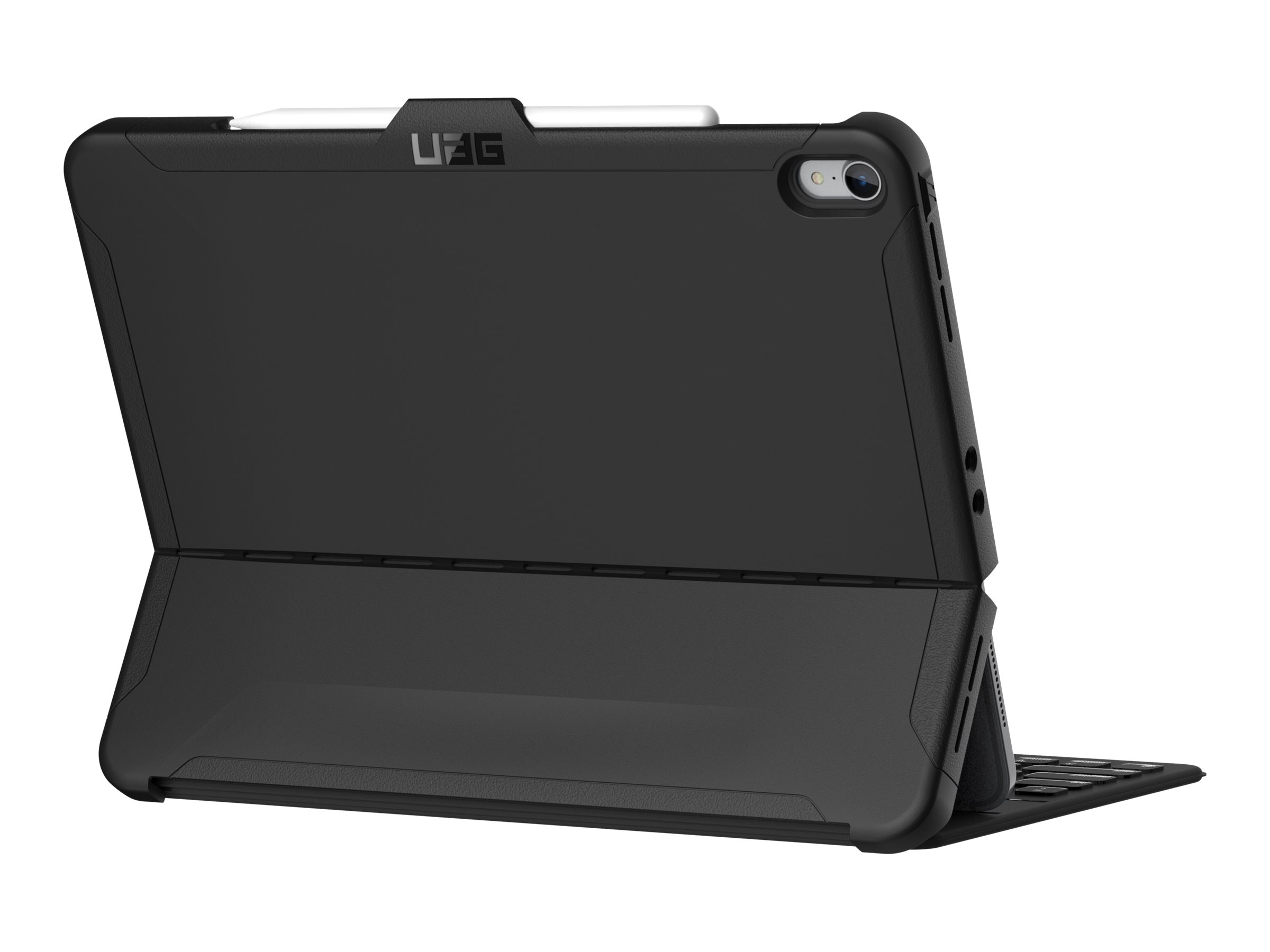 UAG Rugged Case for iPad Pro 12.9 (3rd Gen, 2018) - Scout Black - flip cover for tablet