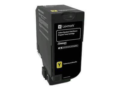 Lexmark - Yellow - original - toner cartridge LCCP, LRP