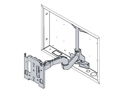 Chief MWRIW6000B - mounting component