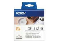Brother DK-11219 - Black on white