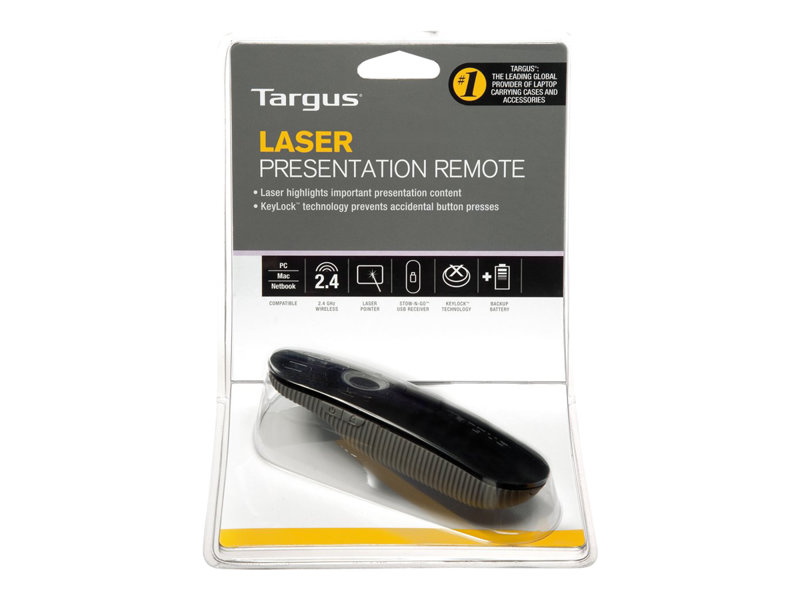 PC//Mac Compatible Targus Laser Presentation Remote