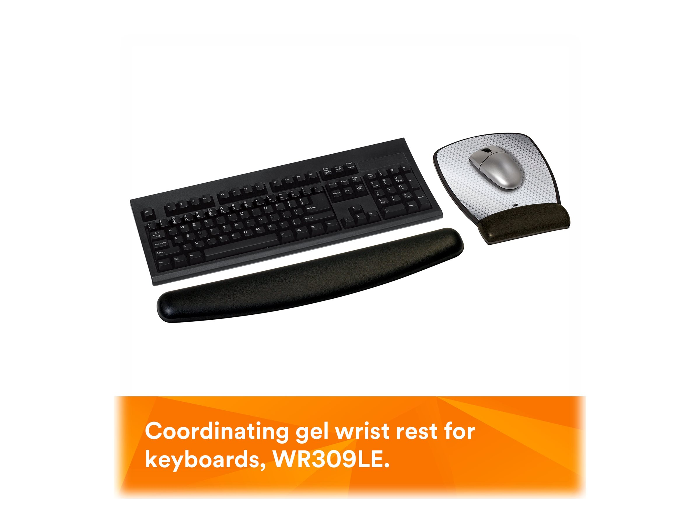 3M mouse pad with wrist pillow