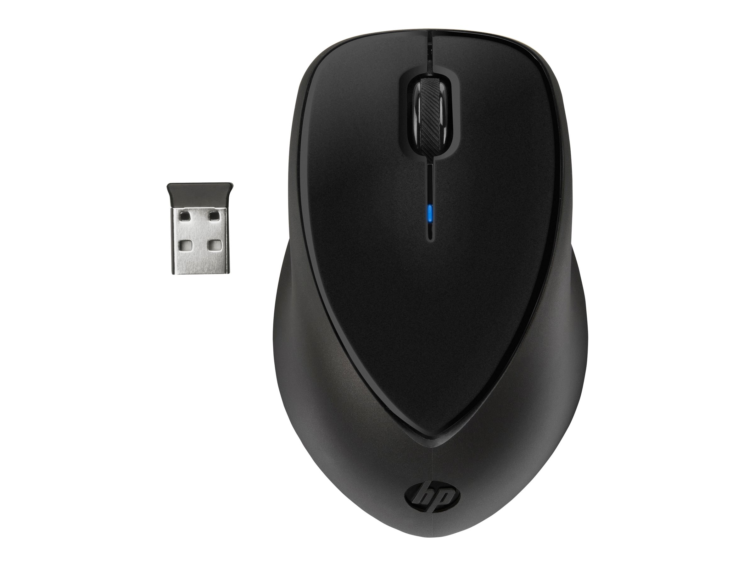 HP Wireless Comfort - mouse - black