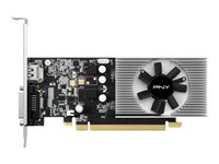PNY GeForce GT 1030 Graphics card GF GT 1030 2 GB GDDR5 PCIe 3.0 x4 low profile -