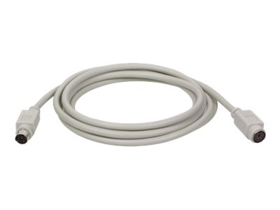 Tripp Lite 50ft Keyboard Mouse Extension Cable PS/2 Mini-DIN6 M/F 50' - keyboard / mouse extension cable - 50 ft