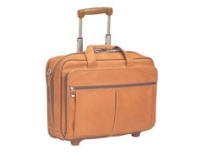 SOLO Classic Rolling Laptop Case D529-1 Notebook carrying case 15.4INCH tan