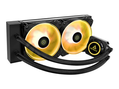 Antec KÜHLER H2O K240 RGB liquid cooling system CPU heat exchanger with integrated pump
