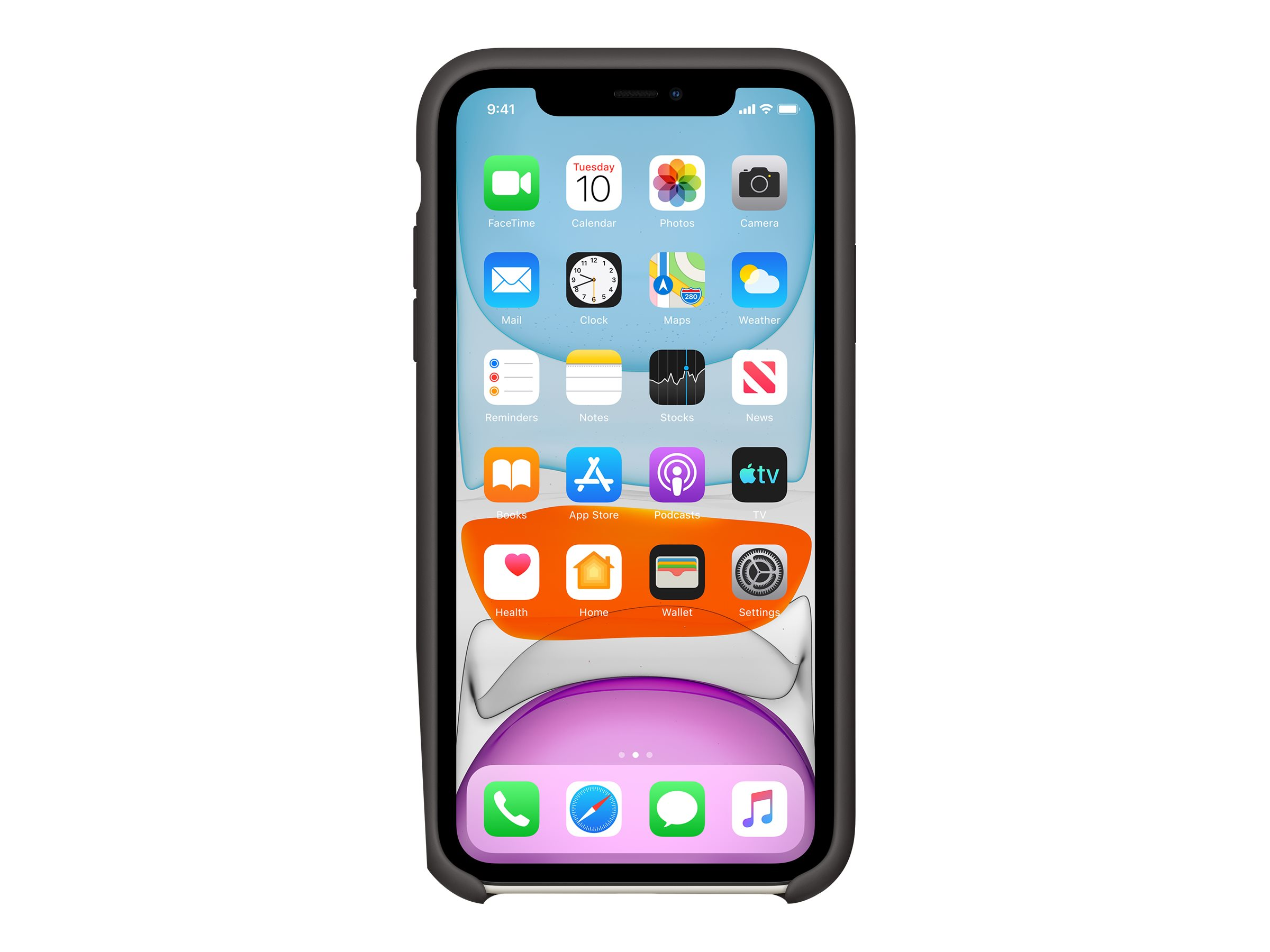 Apple - back cover for cell phone